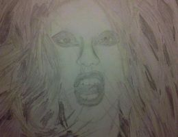 Lady GaGa Drawing 3 by DCProductions223