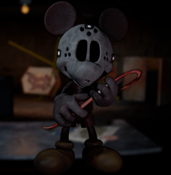 Mickey Voorhees Pose by Photo-NegativeMickey