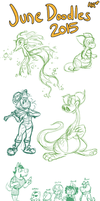 June Doodles 2015 by TopperHay