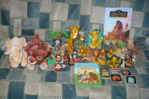 My the lion king stuff by ZiraLovesScar