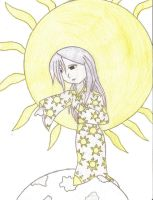Sun goddess-colored by Dark-bliss