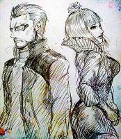 Adam/Eliza in deus ex human revolution by zzingne