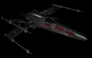 x-wing by jamesapfairlie