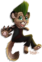 .:RQ:. Chibi Johnny~ by ScottishRedWolf