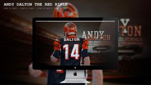 Andy Dalton The Red Rifle Wallpaper HD by BeAware8