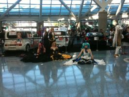Anime Expo 2012 Vocaloids by Fainting-Ostrich