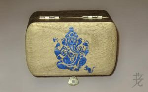 Ganesh trinket box by catnmaus