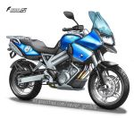 BMW F800GS by Chavito34