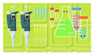 Cute Labware by hyky