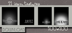 Icon Texture pack002 by gemzy-dazzling