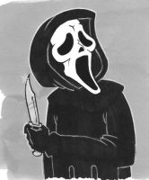 Ghostface Colored by emptypromises13