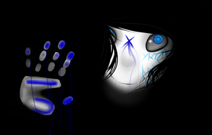 the blue stuff is blood by CAST1EL