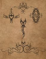 Tattoo design examples by Lykamo