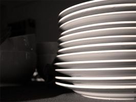 After the Party: Plates by pixeldiva
