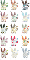 Sylveon free adoptables CLOSED by koshechkazlatovlaska