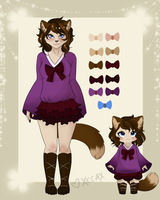 Custom Kitty Anthro for eclipsesongs by Xecax
