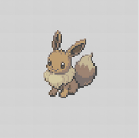Eevee Cross Stitch Pattern by AgentLiri