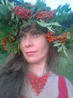 MOUNTAIN ASH LADY ~ PANI JARZEBINKA 1 by DAGAIZM