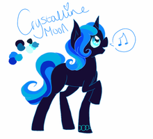 RippleVerse: Princess Crystalline Moon by CitrusSkittles