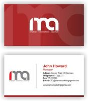 business card IMA by kribzz