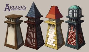 Tower defense concept 2 by Dolmheon