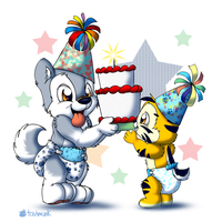 Birthday Bros by Tavi-Munk