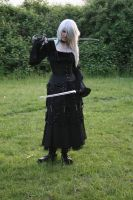 Gothic3 with sword 24 by Noirin-Stock