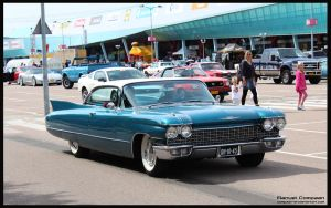 1960 Cadillac Coupe De Ville by compaan-art