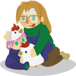 Rick and his Small One by milleniumocarina