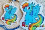 Rainbow Dash Badge Commission by Sparkle-And-Sunshine