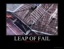 Leap of Fail Motivational by HC-IIIX