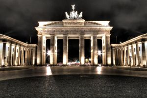 berlin brandenburg gate hdr by ChristianRudat
