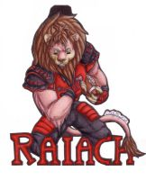 Raiach Badge by IndigoAngelCat