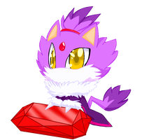 DAT CUTE BLAZE by Belen-1999