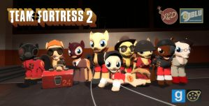 [DL] TF2 Pony Pack by Pika-Robo