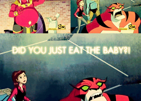 DID U JUST EAT THE BABY GIF by therealkevinlevin