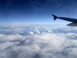 view from plane. by di-snowflake