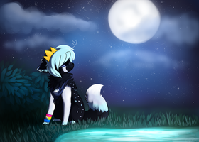 Moonlight Commission by ezpups