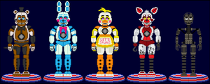 PARTY ANIMATRONICS: F.N.A.F.R.O.S. by RIAEA
