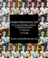 Faded Memories actions by chupla
