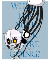 GLaDOS by MAD-as-a-HATTER12