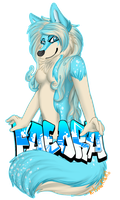 Comission: Faeora Badge by MonstahMastah