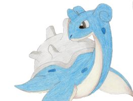 Lapras by anime-123