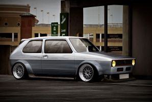 Golf mk1 by Kubka