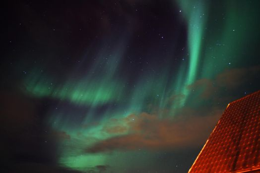 On a sub zero November night in Iceland.... by XantheRowland
