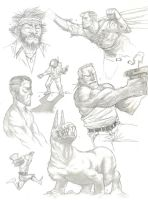 SMUDGY SKETCH PAGE ALPHA by COUNTPAGAN