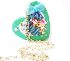 Sailor Neptune Necklace by Thekawaiiod