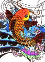 Koi Fish by Cat-Astrophe77