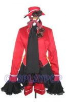 Black Butler red Ciel Phantomhive Costume for Cosp by meganpu