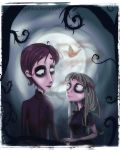 In the style of Corpse Bride by PolishaMyshka